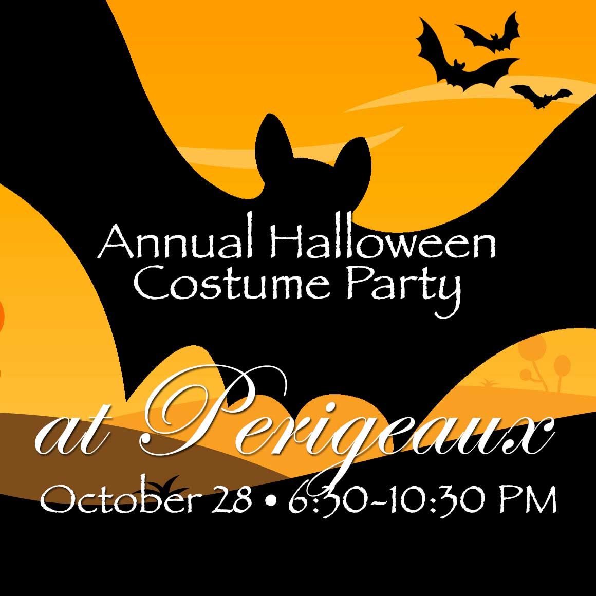 Annual Halloween Costume Party - Perigeaux Vineyards and Winery