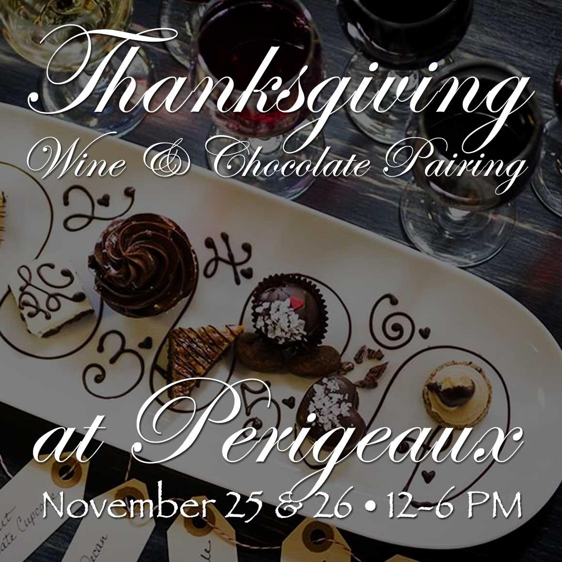 2017 Thanksgiving Chocolate Wine Pairing